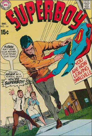 Superboy (1949) 161-A by DC