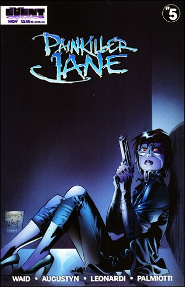 Painkiller Jane (1997) 5-A by Event Comics