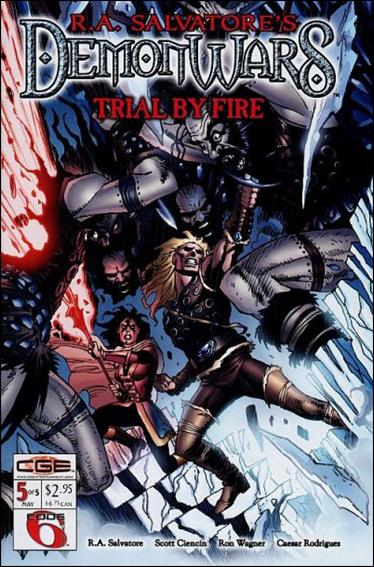 R.A. Salvatore's DemonWars: Trial by Fire 5-A by CrossGen