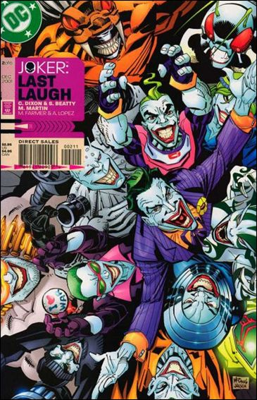 Joker: Last Laugh 2-A by DC