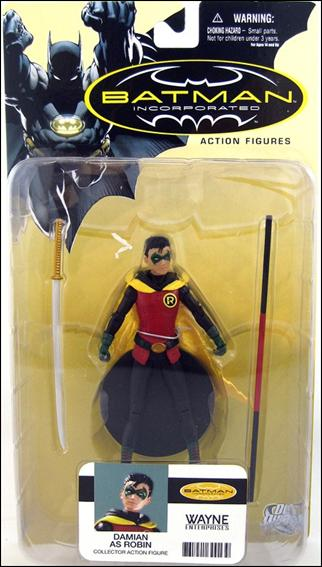Batman Incorporated (Series 1) Damian as Robin by DC Direct