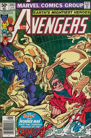 Avengers (1963) 203-A by Marvel
