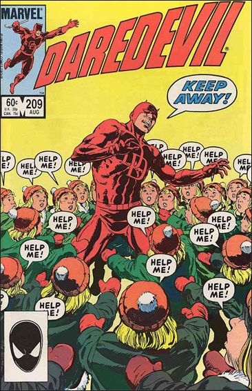 Daredevil (1964) 209-A by Marvel