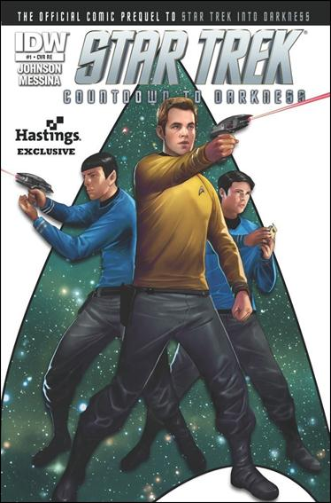 Star Trek: Countdown to Darkness 1-D by IDW