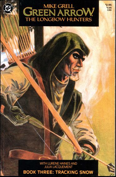 Green Arrow: The Longbow Hunters 3-A by DC