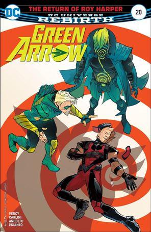 Green Arrow (2016) 20-A