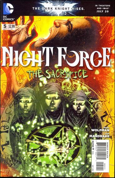 Night Force (2012) 5-A by DC