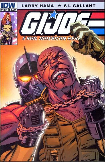 G.I. Joe: A Real American Hero 181-B by IDW