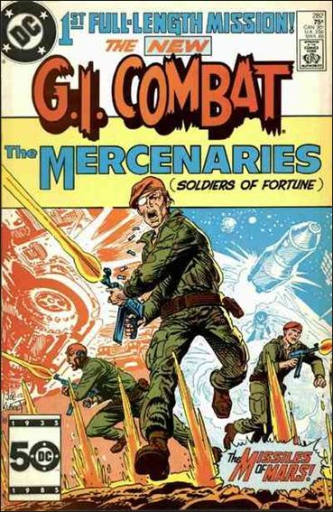 G.I. Combat (1952) 282-A by DC