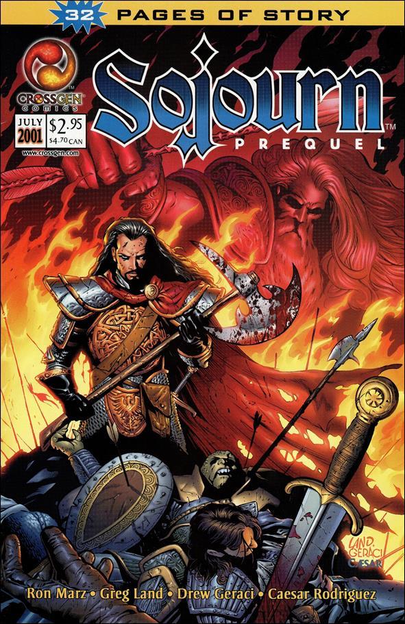 Sojourn Prequel 1-A by CrossGen