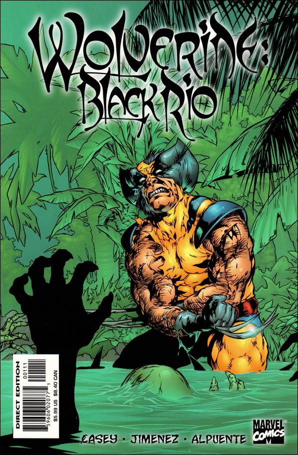 Wolverine: Black Rio 1-A by Marvel