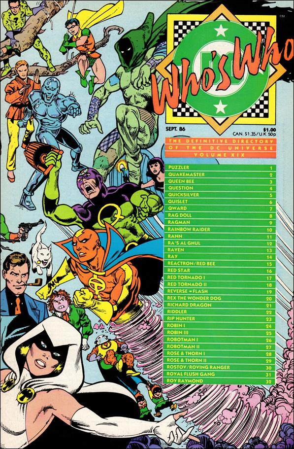 Who's Who: The Definitive Directory of the DC Universe 19-A by DC