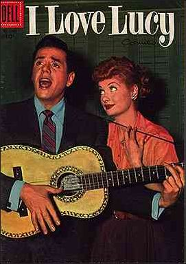 I Love Lucy Comics 9-A by Dell