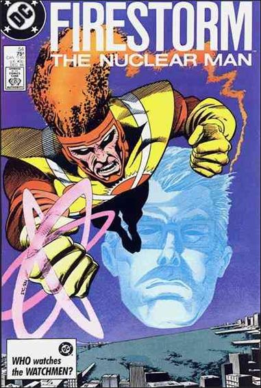 Fury of Firestorm 54-A by DC