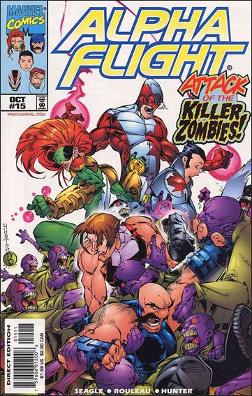 Alpha Flight (1997) 15-A by Marvel