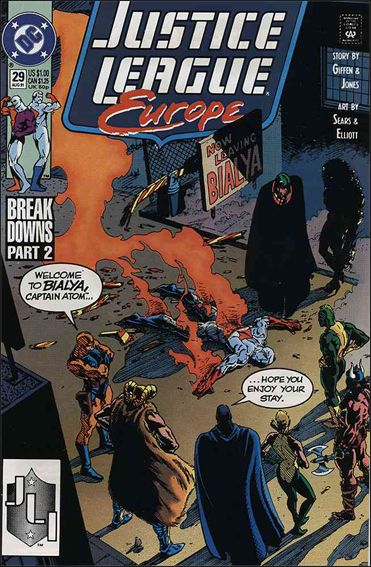 Justice League Europe 29-A by DC