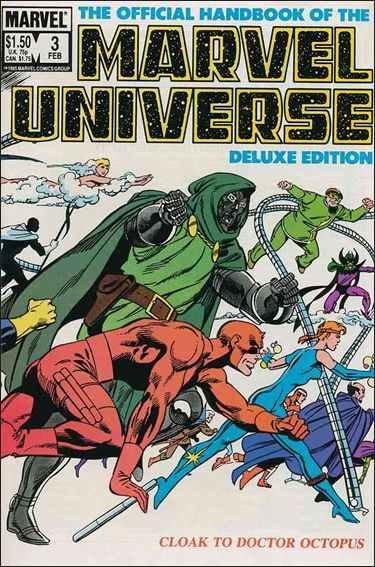 Official Handbook of the Marvel Universe (1985) 3-A by Marvel