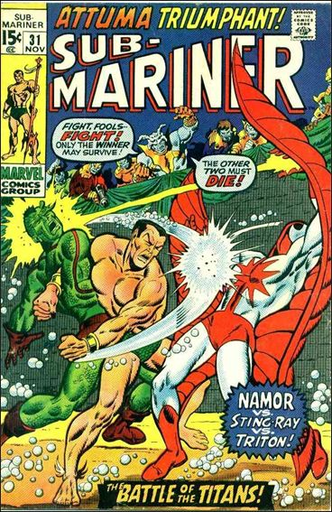Sub-Mariner (1968) 31-A by Marvel