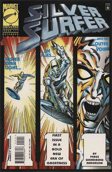 Silver Surfer (1987) 111-A by Marvel