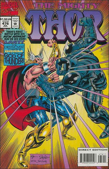 Thor (1966) 476-A by Marvel