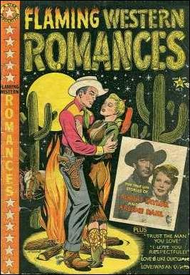 Flaming Western Romances 3-A by Star Publications