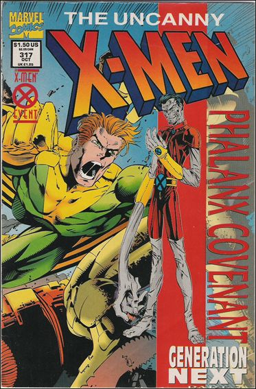 Uncanny X-Men (1981) 317-B by Marvel