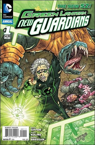 Green Lantern: New Guardians Annual 1-A by DC