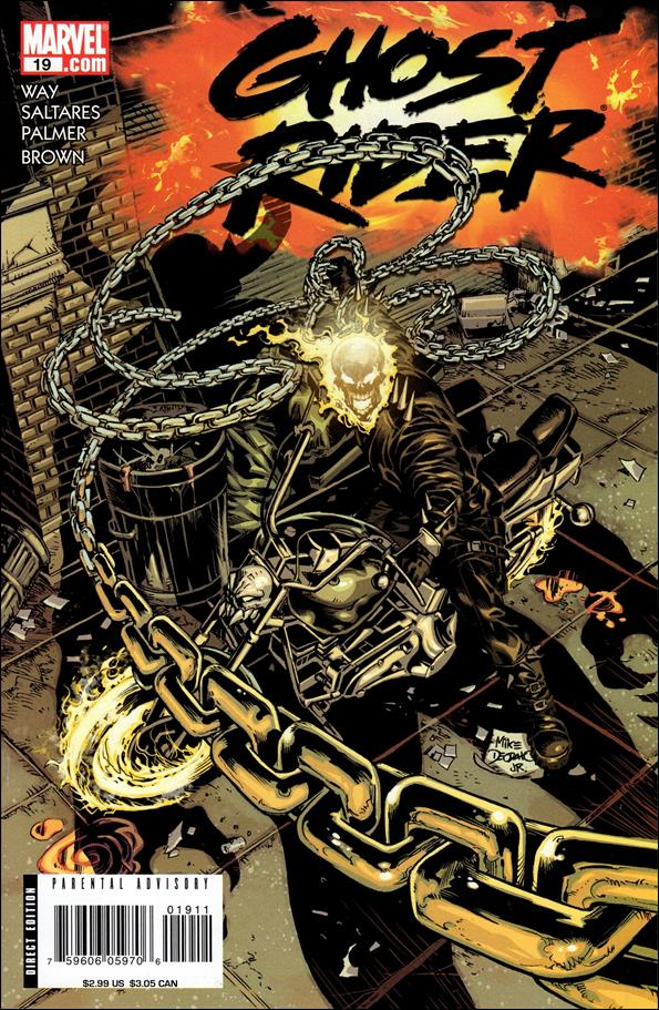 Ghost Rider (2006) 19-A by Marvel