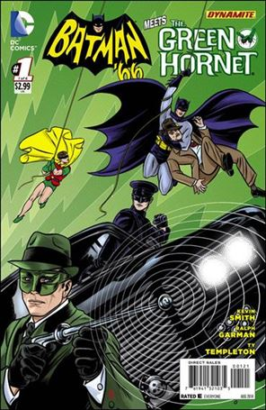 Batman '66 Meets Green Hornet 1-B