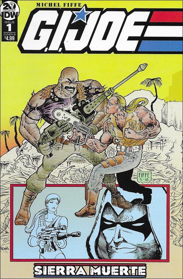 G.I. Joe: Sierra Muerte 1-B by IDW