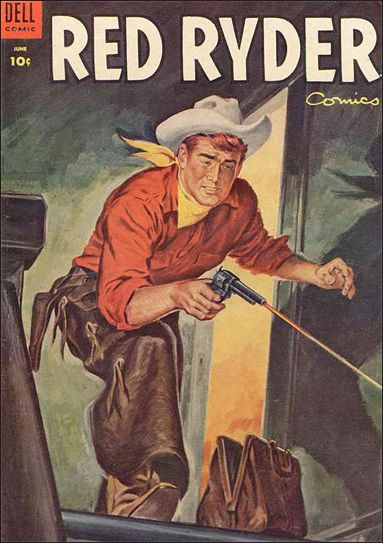 Red Ryder Comics 131-A by Dell
