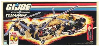 "G.I. Joe: A Real American Hero 3 3/4"" Basic Vehicles and Playsets Tomahawk by Hasbro"