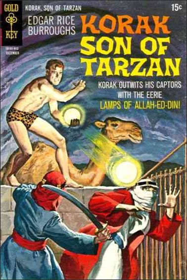 Korak, Son of Tarzan 32-A by DC