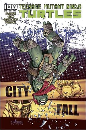 Teenage Mutant Ninja Turtles (2011) 22-A
