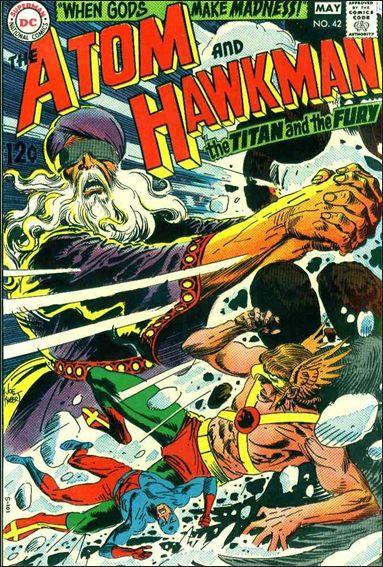 Atom & Hawkman 42-A by DC