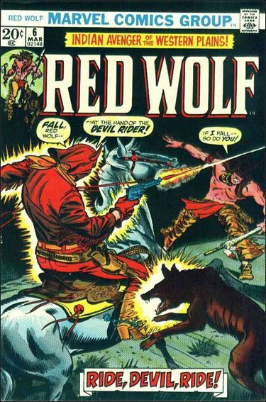Red Wolf (1972) 6-A by Marvel