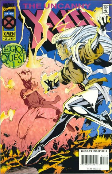 Uncanny X-Men (1981) 320-A by Marvel
