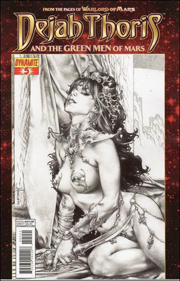 Dejah Thoris and the Green Men of Mars 5-E by Dynamite Entertainment