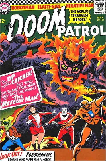Doom Patrol (1964) 103-A by DC