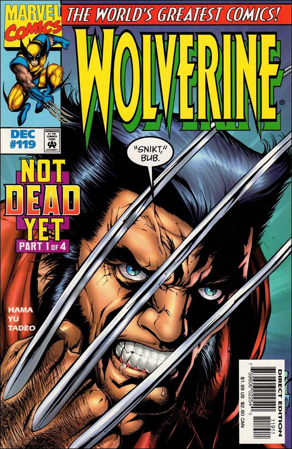 Wolverine (1988)  119-A by Marvel