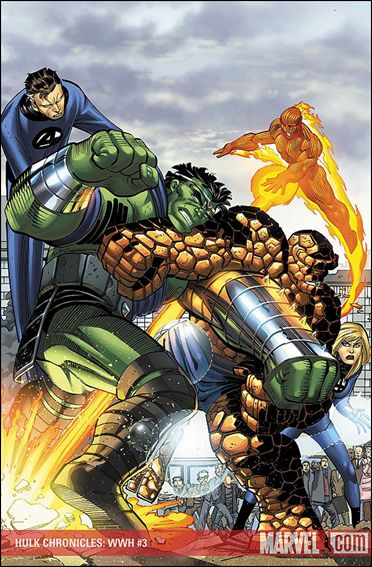 Hulk Chronicles: WWH 3-A by Marvel