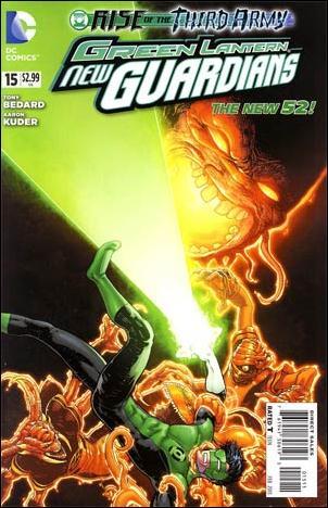 Green Lantern: New Guardians  15-A by DC