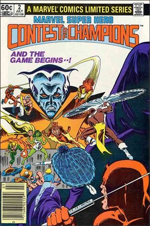 Marvel Super Hero Contest of Champions (1982) 2-A