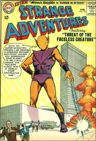 Strange Adventures (1950) 153-A by DC
