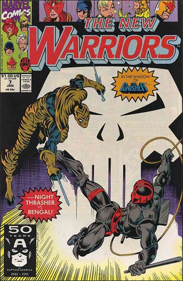 New Warriors (1990) 7-A by Marvel