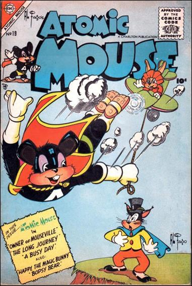 Atomic Mouse (1953) 19-A by Charlton