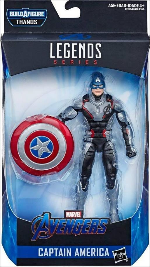 Marvel Legends Series: Avengers (Thanos Series) Captain America by Hasbro