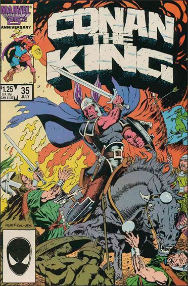 Conan the King 35-A by Marvel