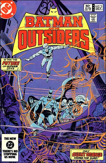 Batman and the Outsiders (1983) 3-A by DC