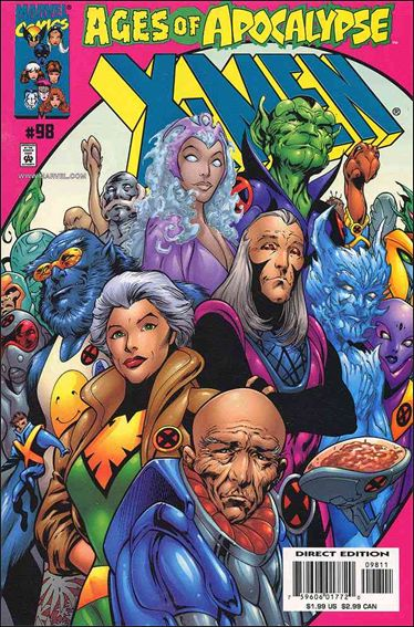 X-Men (1991) 98-A by Marvel